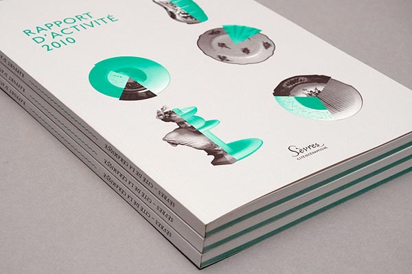 Design and Layout for Sèvres Report by Studio Plastac