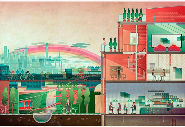 Editorial Illustrations by Vesa Sammalisto