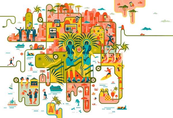 Editorial Illustration by Vesa