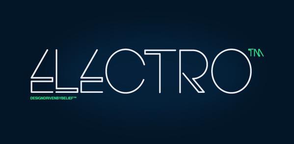 Electro Font