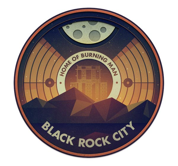 Everywhere Project - Black Rock City by Justin Mezzell