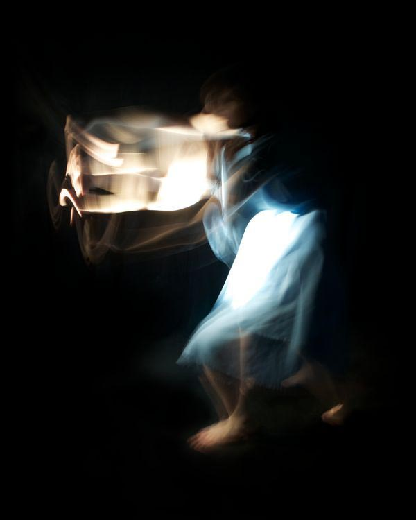 Experimental Digital Photography - Bodies of Thought Series by Kristin Smith