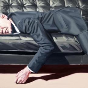 Men in Suits - Oil Paintings by Peter Ravn