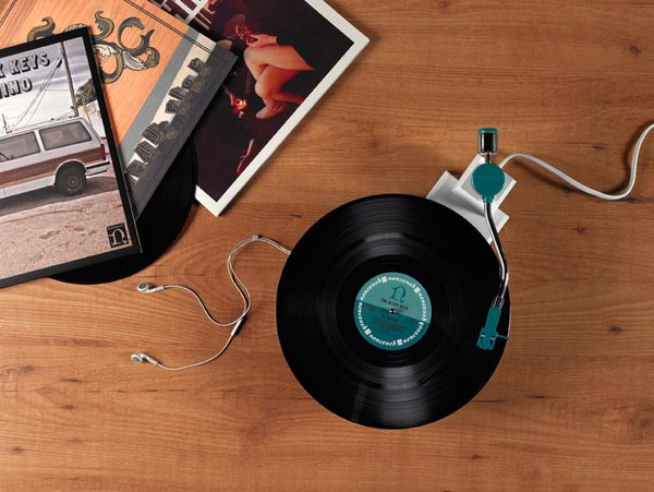 Industrial Design - Record Player Reboot by Siddharth Vanchinathan
