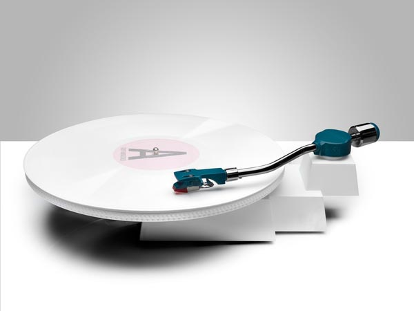 Minimal Industrial Design - Record Player Reboot by Siddharth Vanchinathan