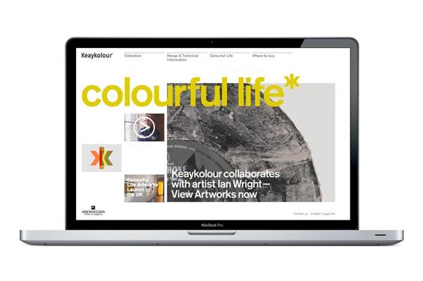 Website Design for Keaykolour by Studio Blast