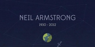Neil Armstrong Tribute Illustration by Nico Encarnacion