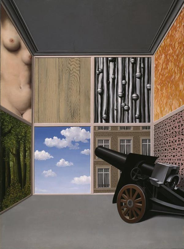 On the Threshold of Liberty by René Magritte