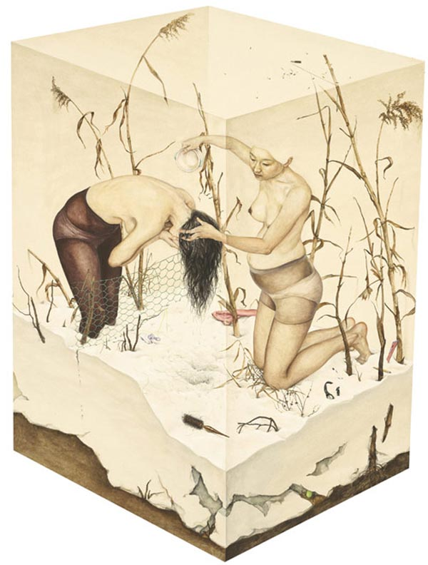 Painting by Lee Jin Ju