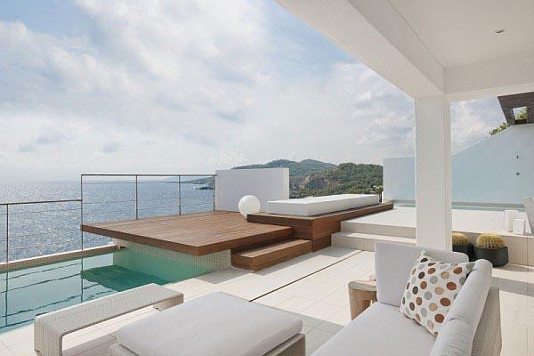 Patio with Sea Views on Ibiza