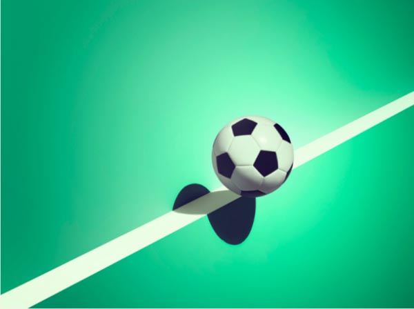 Sports and Surreal Shadows by Kelvin Murray - Soccer