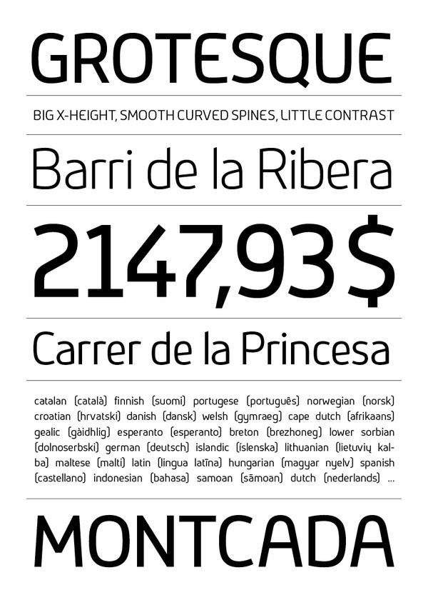 Ribera Typeface