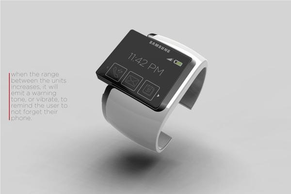 Samsung Proxima Watch Concept by Johan Loekit