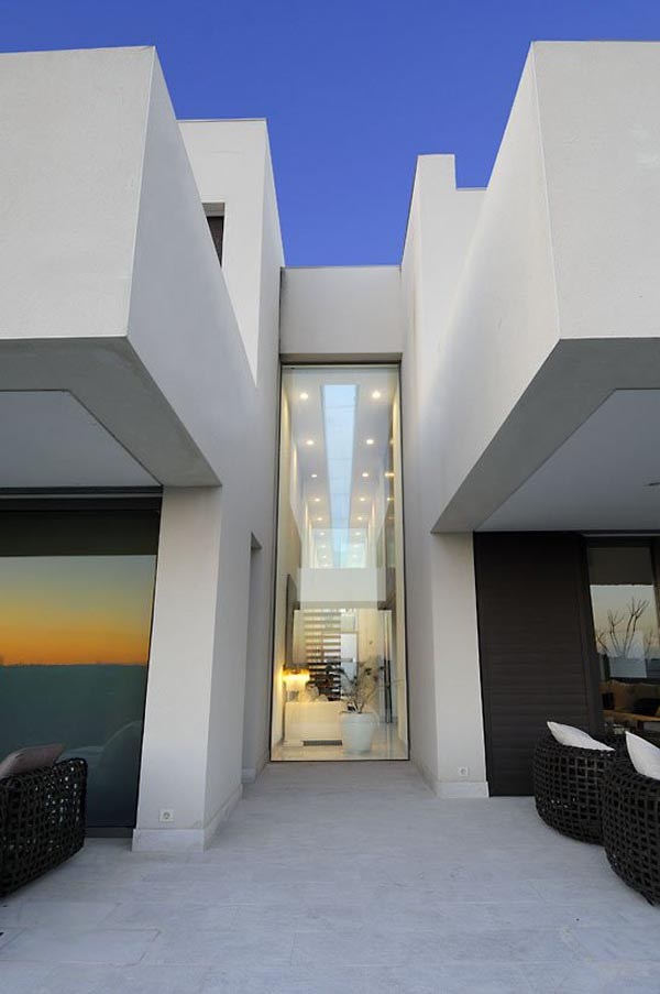 ... A Cero Architects Straight Architecture   Camarines House In Madrid,  Spain