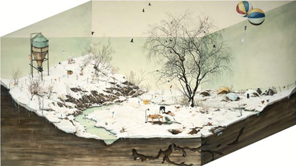 Surreal Painting by Lee Jin Ju