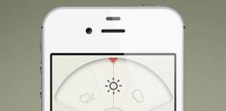 BRAUN inspired iPone Weather App