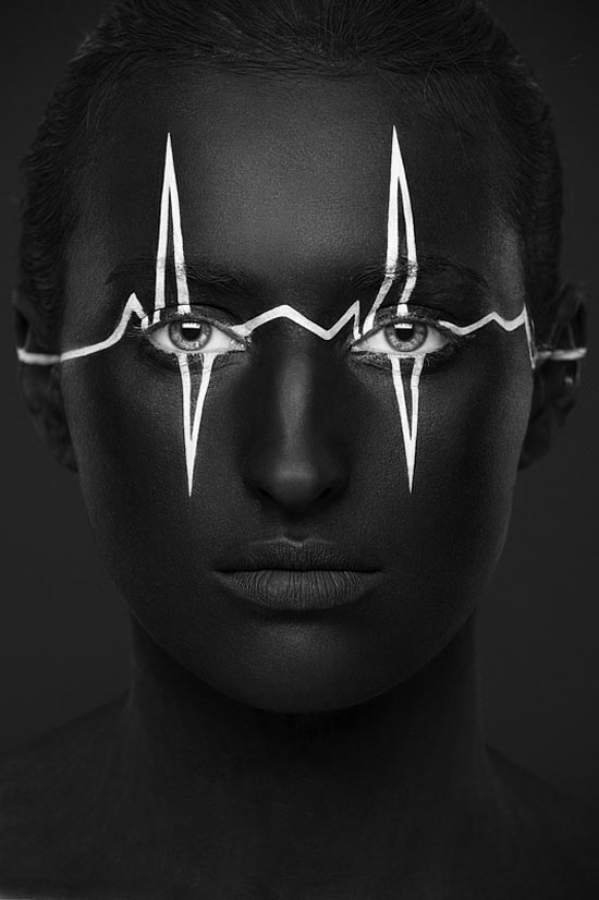 Weird Beauty - Artistic Black and White Portrait Photography by Alexander Khokhlov