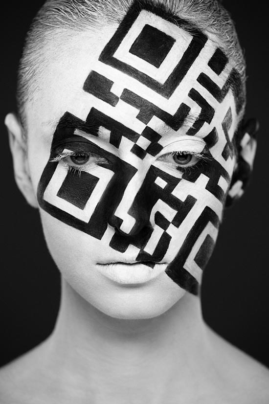 Weird Beauty - Black and White Portrait Photography by Alexander Khokhlov