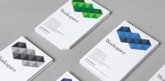 Workspace Business Cards Design by Bond
