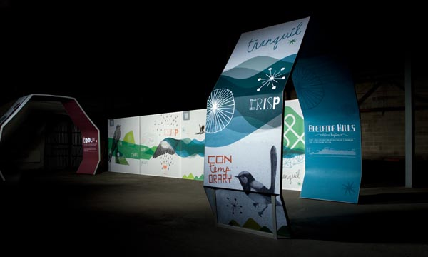 Adelaide Hills Wine - Identity Designed by Voice
