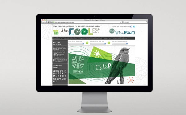 Adelaide Hills Wine Region - Web Design by Voice