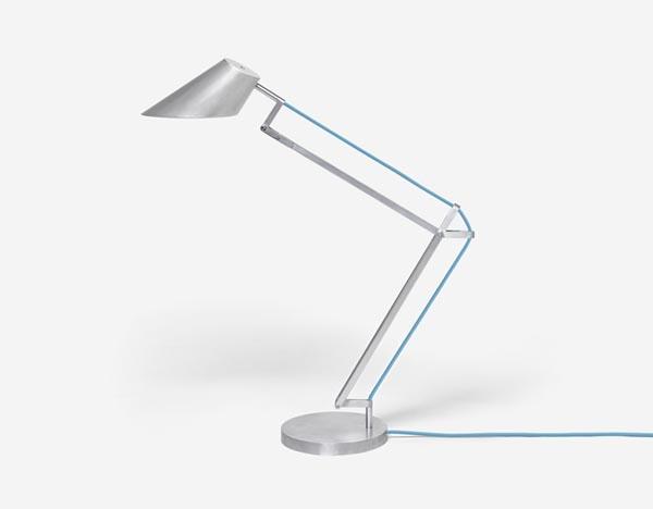 Alumen - Aluminium Design Desktop Lamp by Simon Frambach:Alumen - Aluminum Designer Desktop Lamp by Simon Frambach,Lighting