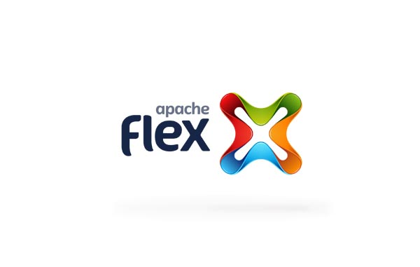 Apache Flex Banding And Web Design Concept
