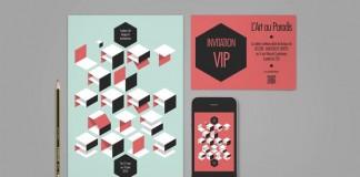 L'Art au Paradis 2012 Identity and Print Design by Ultradigital