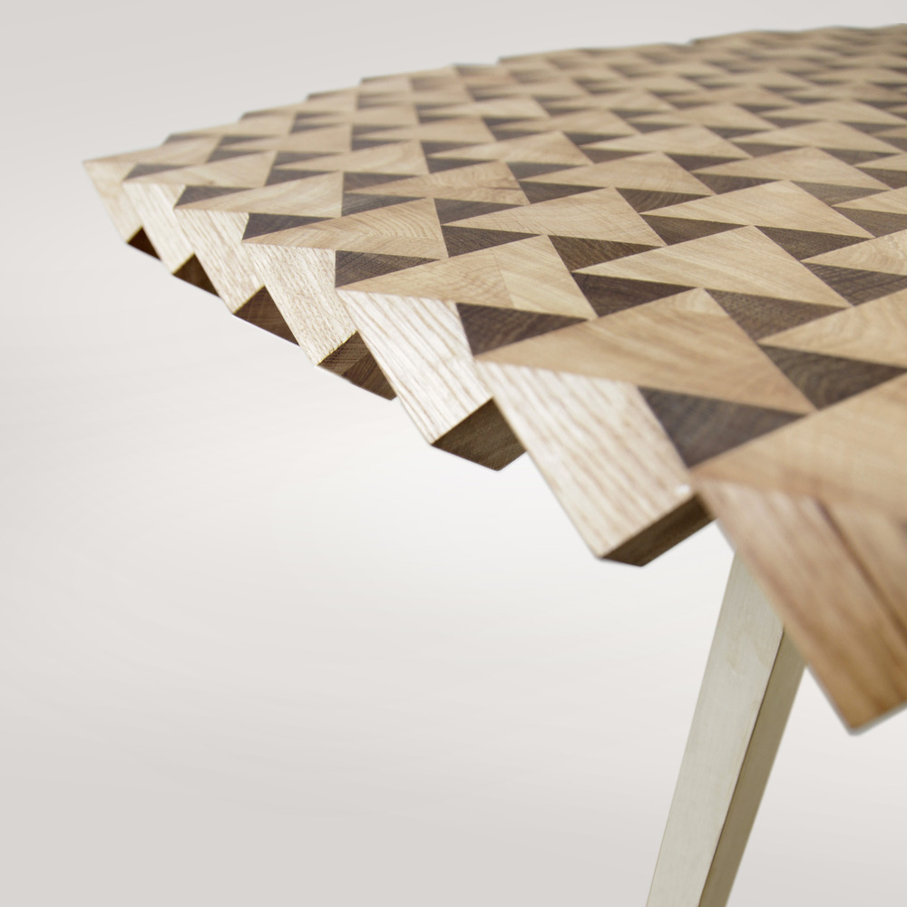 Geometric tables furniture design by the fundamental shop for Furniture table design