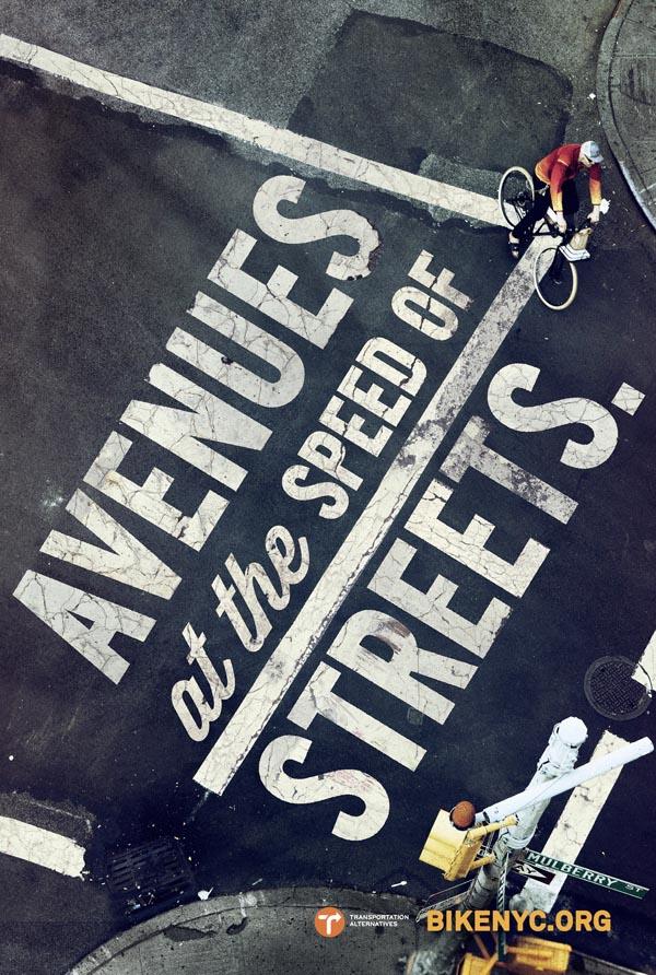 BikeNYC Street Camaign