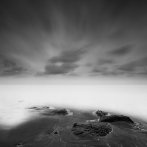 Black and White Sea Photography by Nathan Wirth