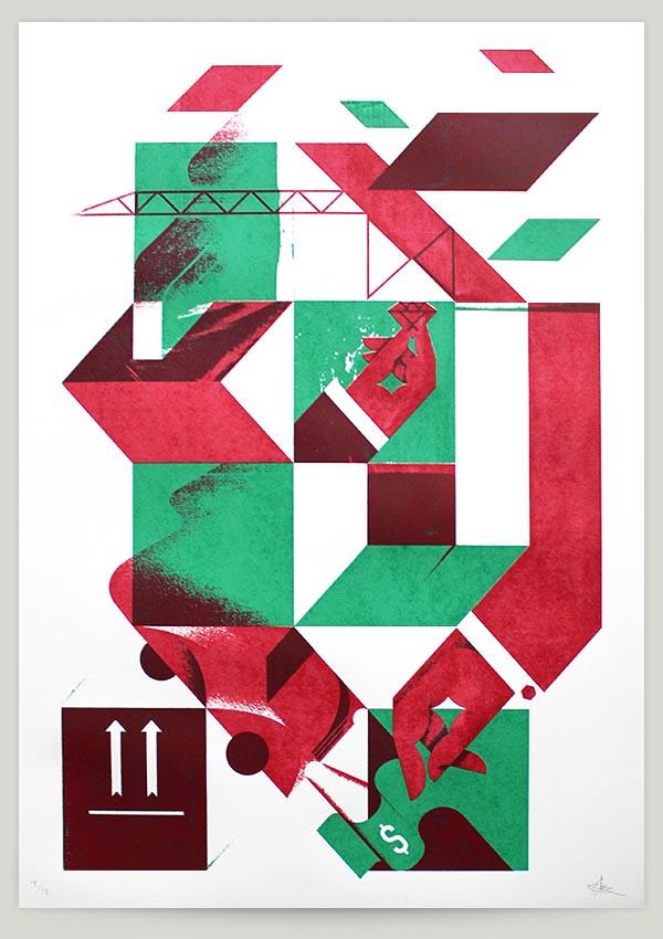 graphic art and illustrations by aron vellekoop león