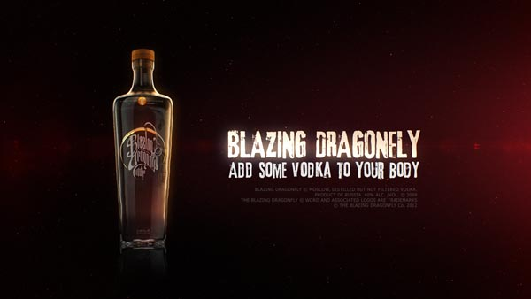 Imaginary Vodka Brand Blazing Dragonfly Commercial by Transparent House