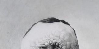 Creepy Illustrated Portrait by Raymond Lemstra