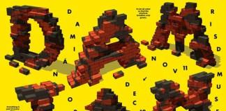 Damián Ortega - Resting Matter - Typographic Poster Design by Sang Mun