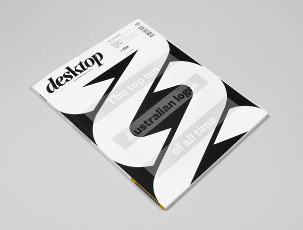 Desktop Magazine Cover Design by Luke Robertson