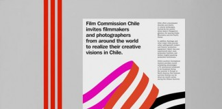 Film Commission Chile - Visual Identity Design by Hey Studio