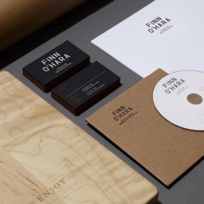 Finn O'Hara Visual Identity Design by Tag Collective