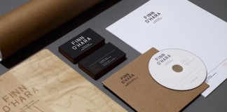 Finn O'Hara Visual Identity by Tag Collective