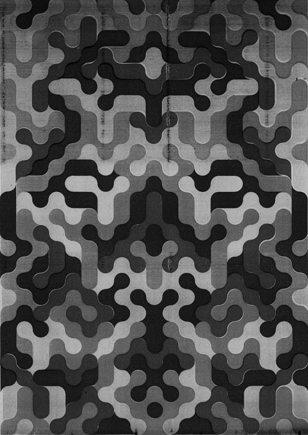 Graphic Pattern Poster Design by Jack Featherstone.