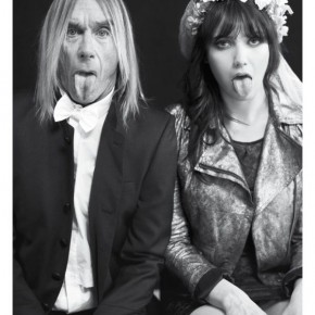 Iggy Pop and Daisy Lowe for ELEVEN PARIS - Fall Winter 2012 / 2013