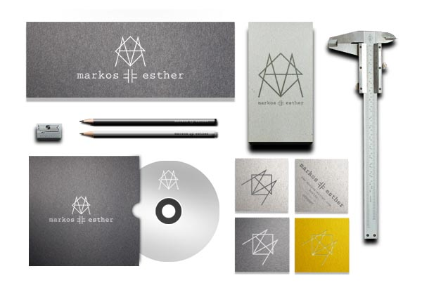 Markos-Esther Design Studio - Visual Identity