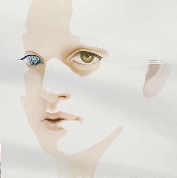 Monochrome Oil Paintings - Monochrome Flesh Oil Painting On Canvas By Yasuyo Fujibe