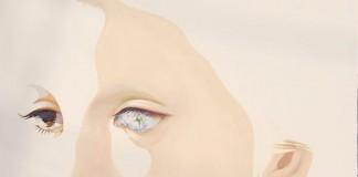 Monochrome flesh - Oil on Canvas Art Painting by Yasuyo Fujibe