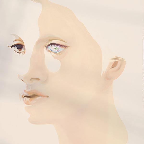 Monochrome Oil Paintings - Monochrome Flesh Oil On Canvas Painting By Yasuyo Fujibe
