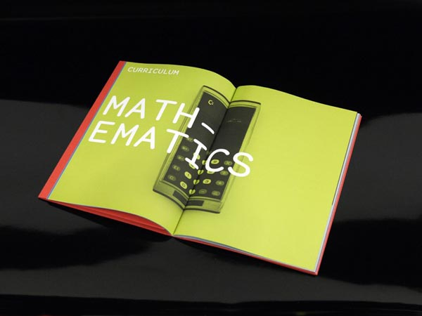 Motherwell College Prospectus Design by Graphical House