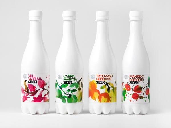 Olvi Cider - Package Design by Bond