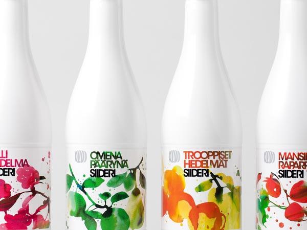 Olvi Cider Packaging Design by Bond