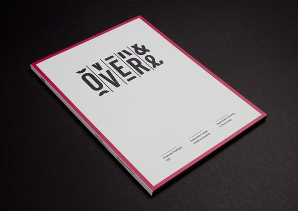 Over and Over Identity for Exhibition Design by Luke Robertson