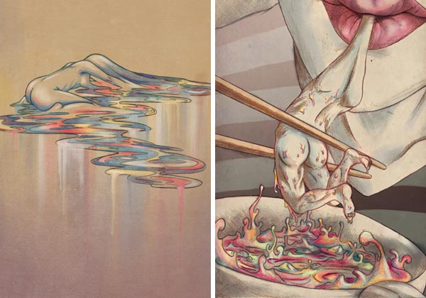 Personal Illustrations by Mayumi Haryoto